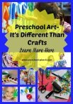 Preschool Art VS Preschool Crafts