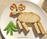 Reindeer Toast Preschool Snack for Woodland Animals Preschool Theme