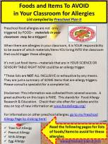 Preschool Allergies in the Classroom