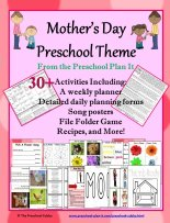 Mother's Day Preschool Theme