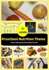 Nutrition Preschool Theme