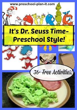 Dr. Seuss Preschool Theme