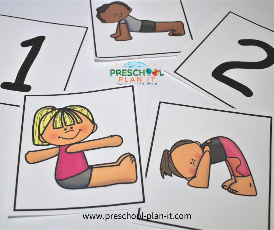Exercise and Fitness Preschool Theme