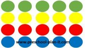 Preschool Twister Game for Jesus Washes the Disciples' Feet Preschool Theme