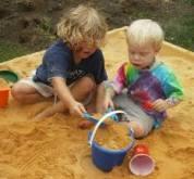 Preschool Outdoor Activities: Of course, have a sand area!