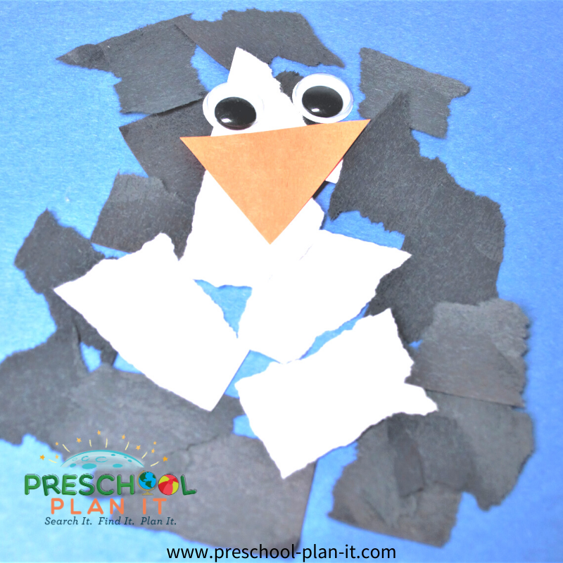 Winter Animals Preschool Theme