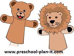 Fitness and Exercise Puppet Show for Preschool Themes