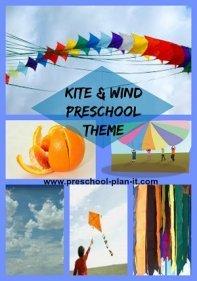 Kite Activities and Wind Preschool Theme