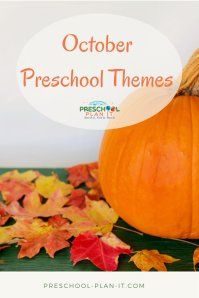 October Preschool Themes