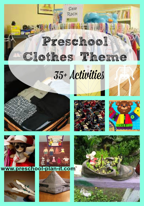 Clothes Theme For Preschool
