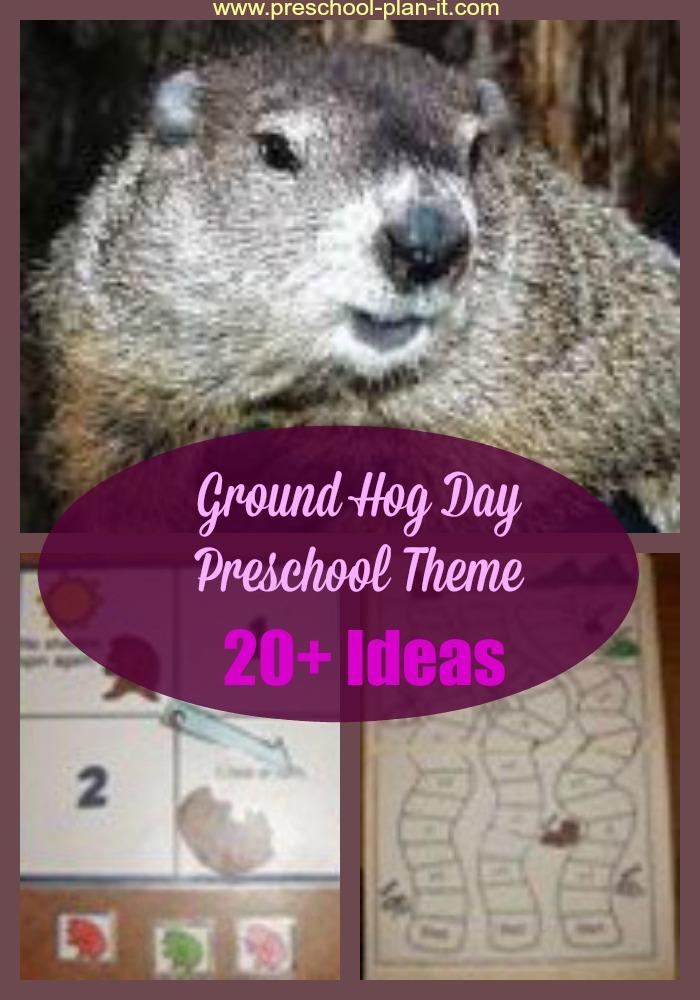 Ground Hog Day Preschool Theme