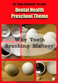 Dental Health Preschool Theme Tooth Brushing