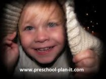 Hide and Seek Preschool activity