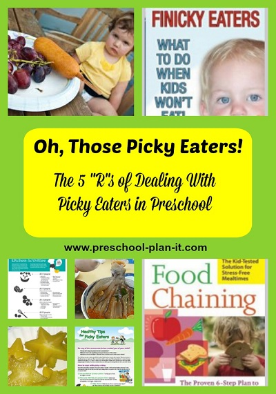 Preschool Picky Eaters Tips and Resources