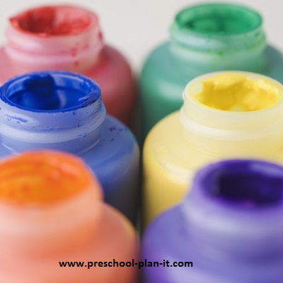 Preschool Art and Preschool Painting