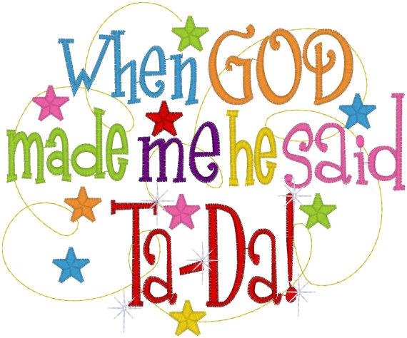God Made Me Preschool Theme