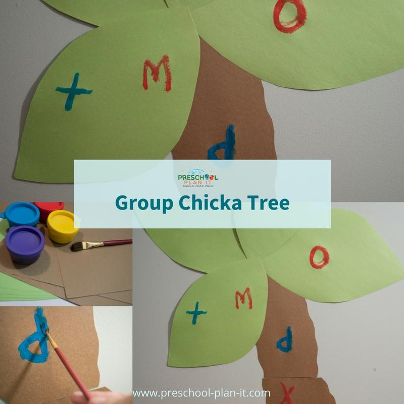 Chicka Chicka Boom Boom Preschool Theme