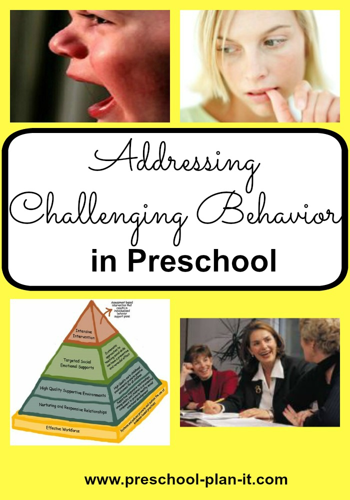Challenging Preschool Behavior