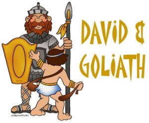 David & Goliath Preschool Theme