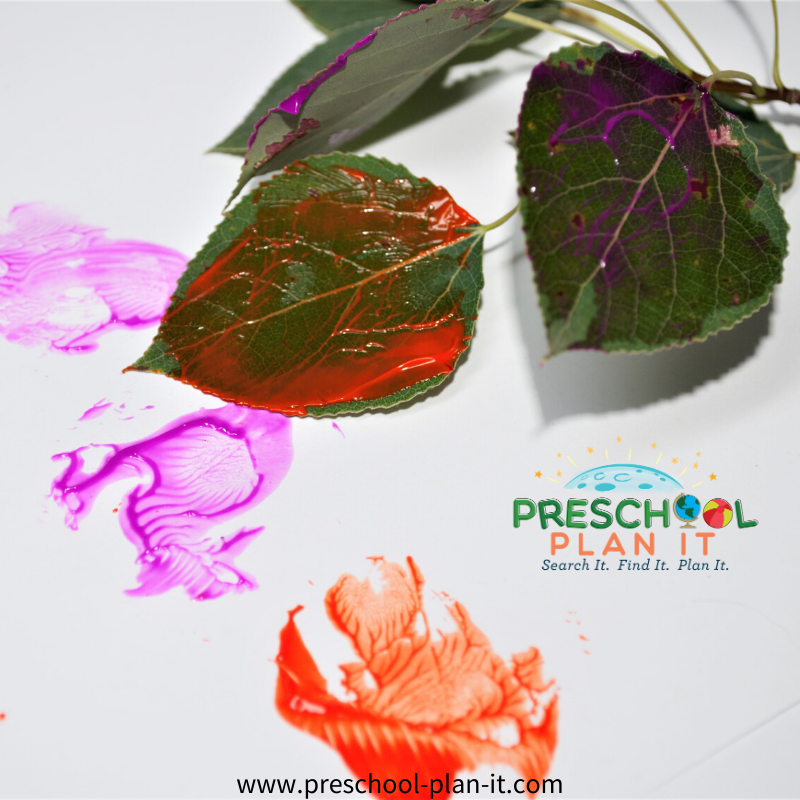 Adam and Eve Preschool Theme Painting Activity