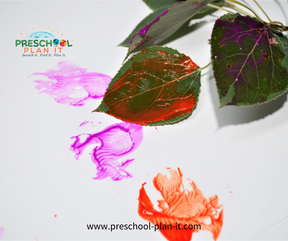 Arbor Day Preschool Theme Painting Activity