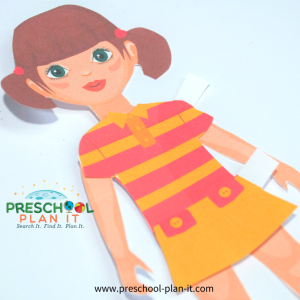 Clothes Preschool Theme Paper Dolls