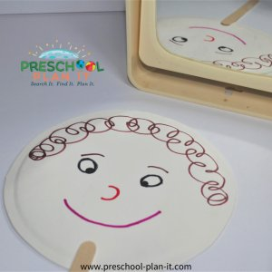 Feelings Preschool Theme Art Activity