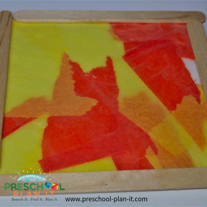 Fire Safety Preschool Theme Art Activity