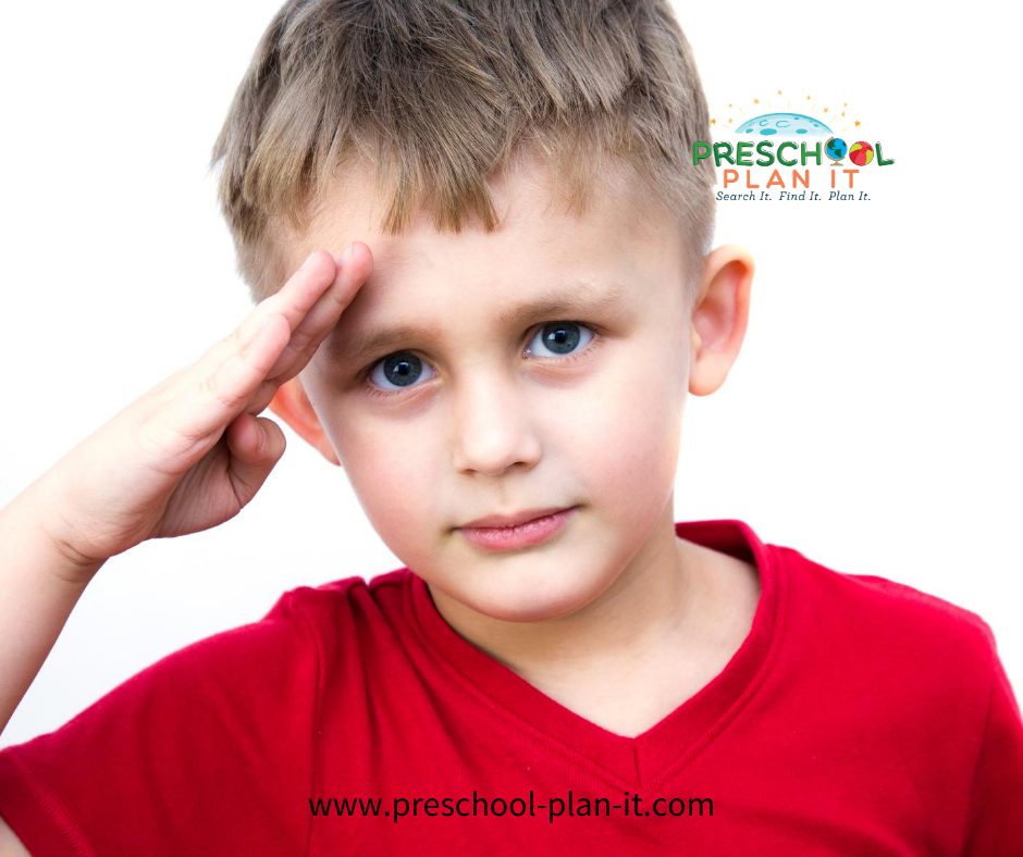 Preschool military deployment of Parent