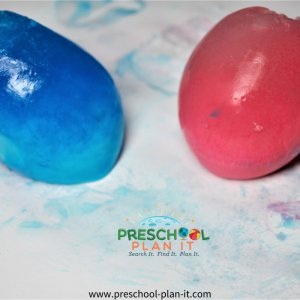 Preschool Ice Theme Art Activity