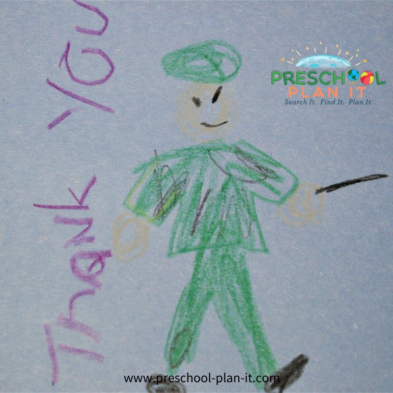 Preschool Memorial Day Activities Writing Activity