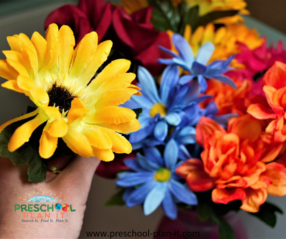 Pick A Flower Circle Time Activity for Mother's Day