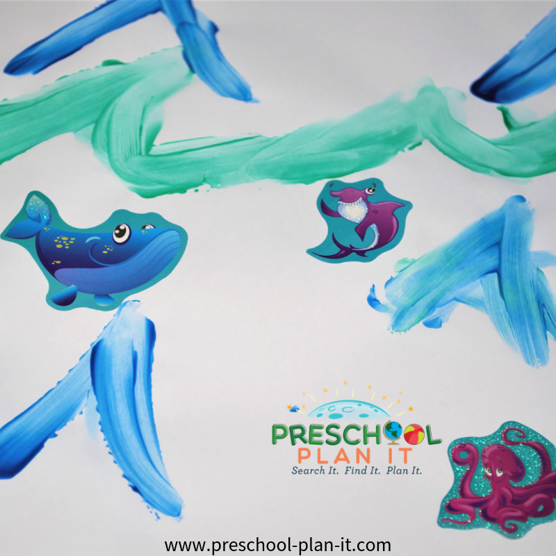 Act Activity from Ocean Life Preschool Theme