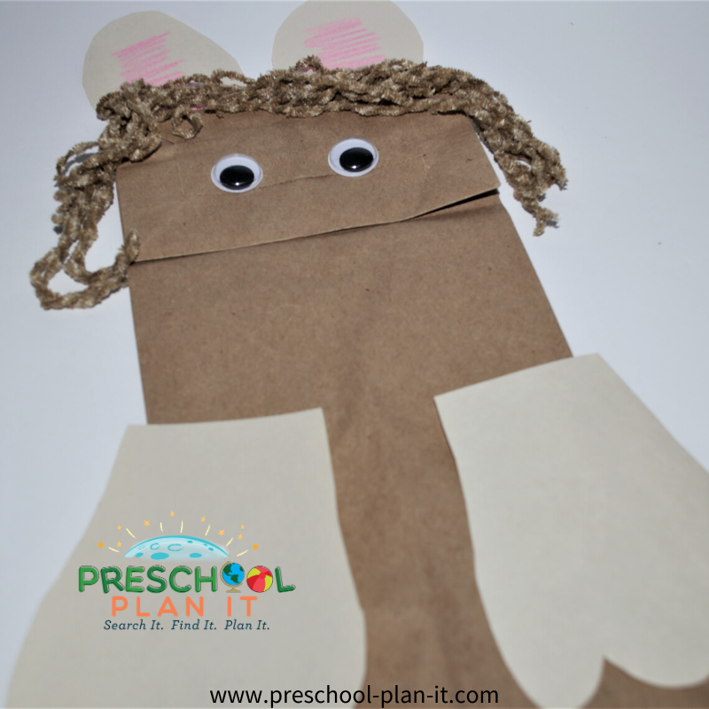 Palm Sunday Preschool Theme Art Activity