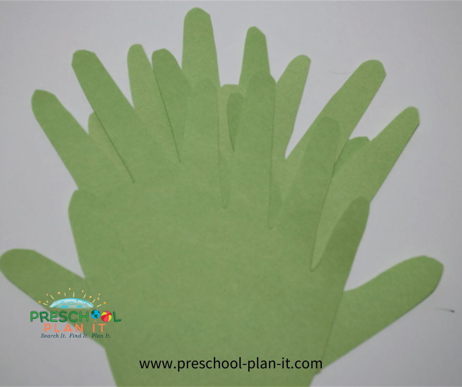 Palm Sunday Preschool Theme Math Activity
