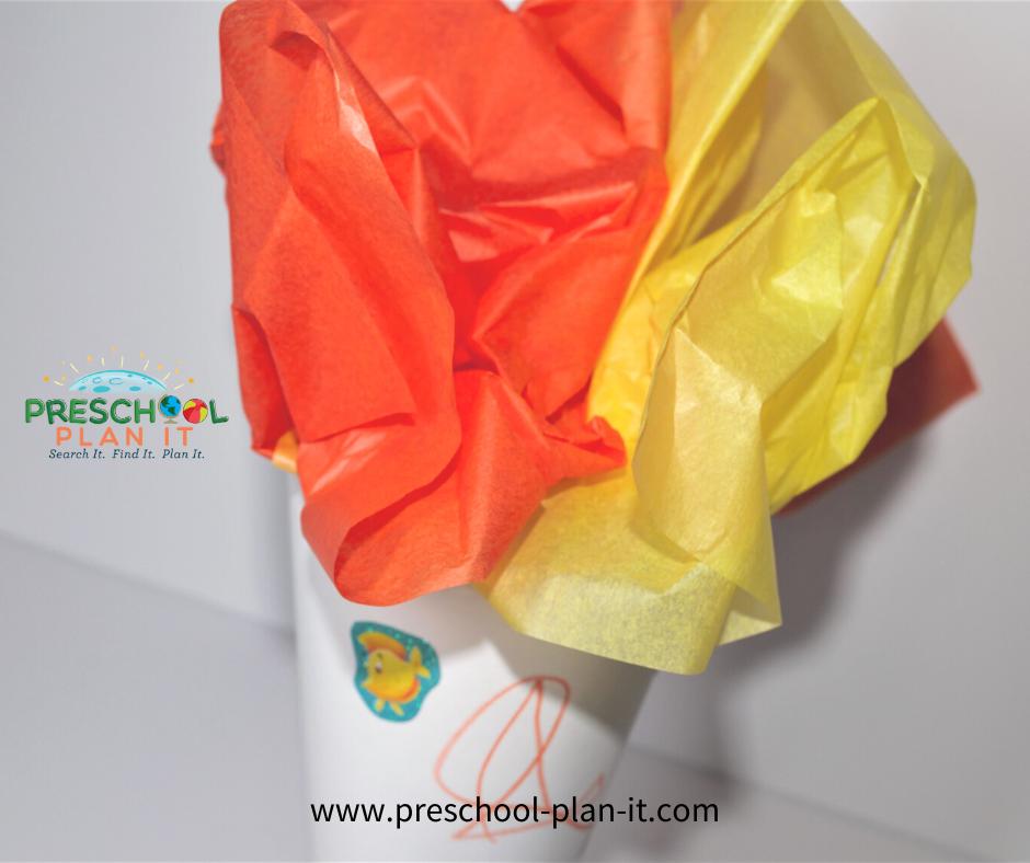 Preschool Olympic Theme Art Activity