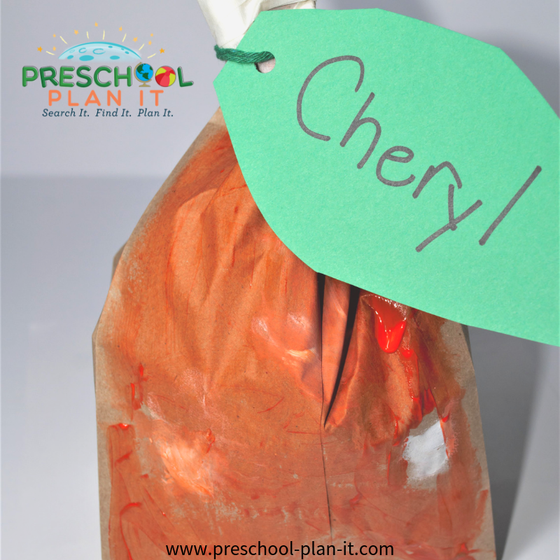 Preschool Pumpkin Activities Art Activity
