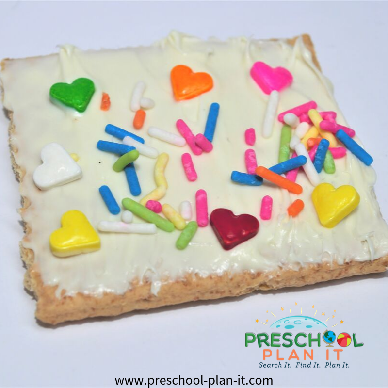 Quilts Preschool Theme Snack Idea
