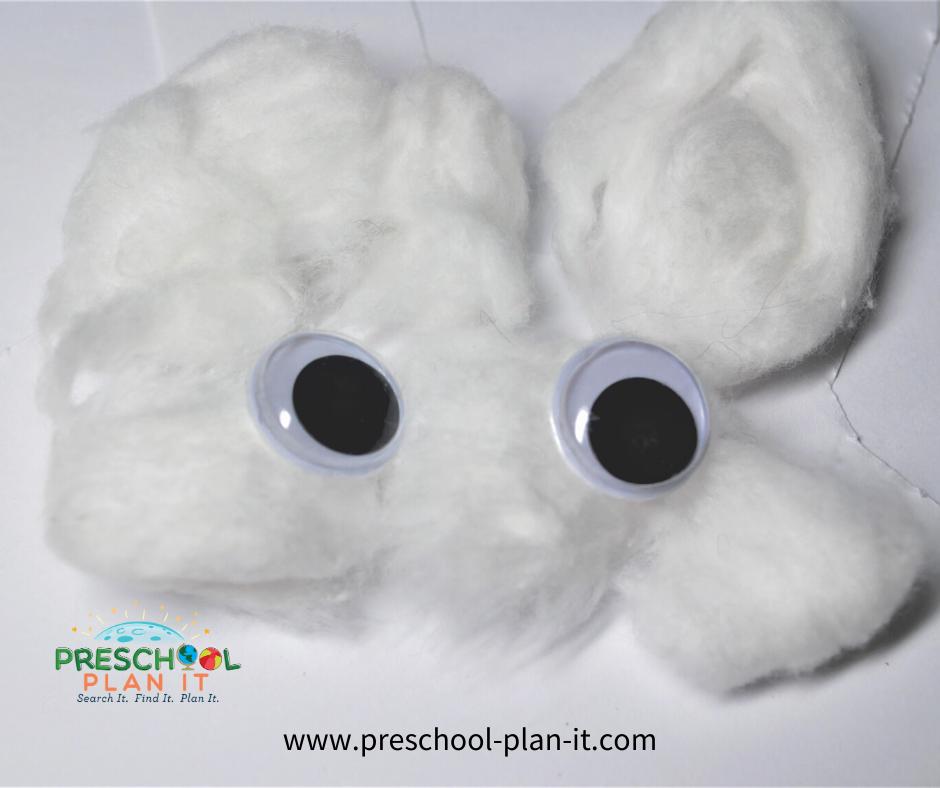 Winter Animals Preschool Theme Rabbit Activity