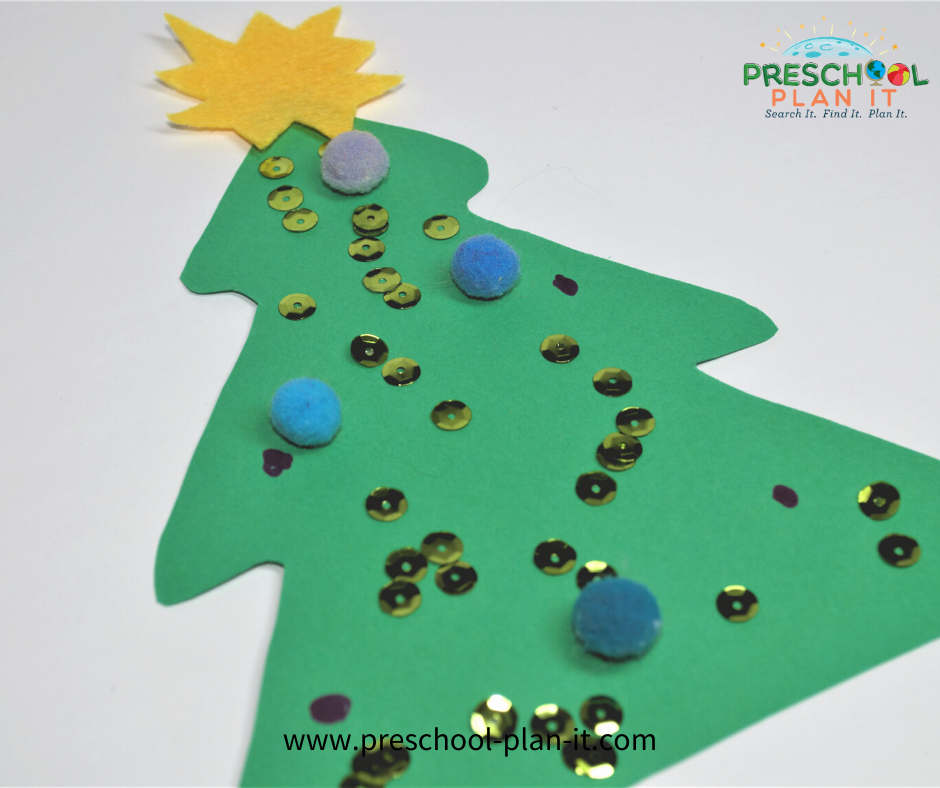 Christmas Preschool Theme Art Activity