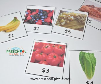 Community Helper Grocer Theme Math Activity