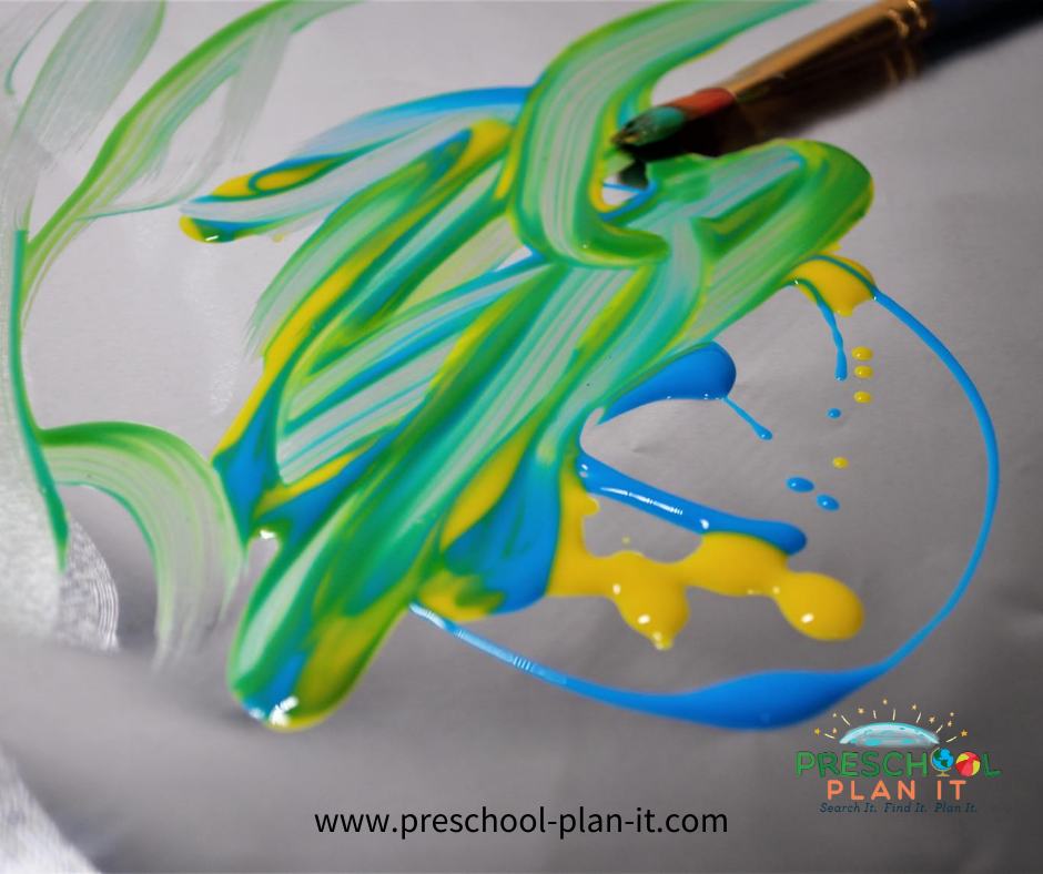 Creation Day 4 Preschool Theme Painting Activity