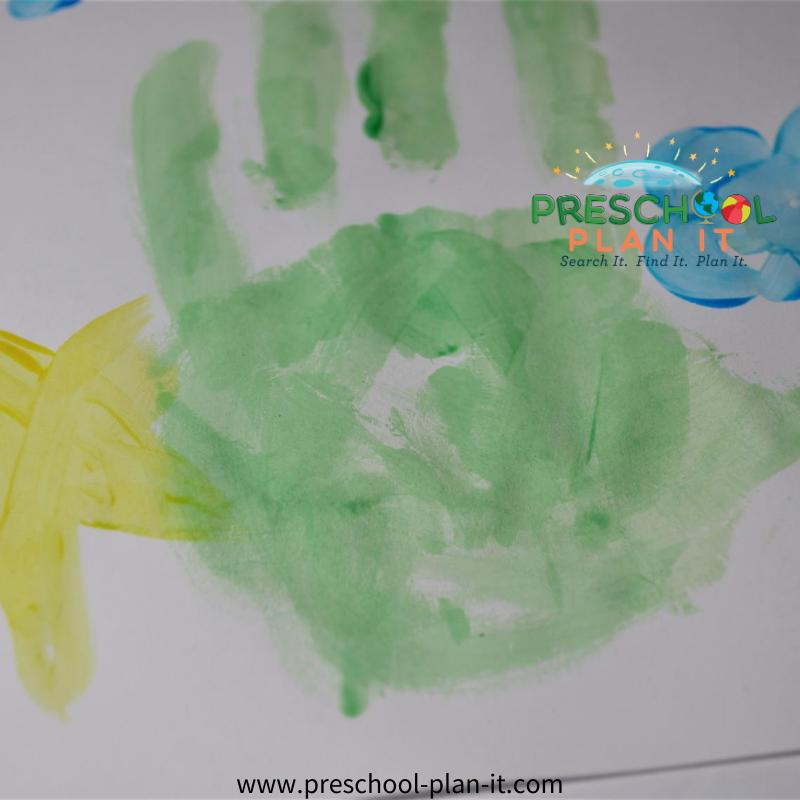 Creation Day 7 Preschool Theme Art Activity