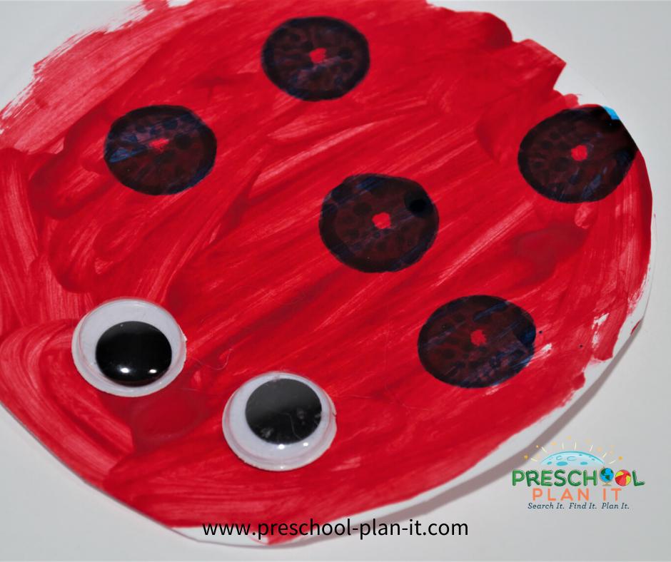 Eric Carle Preschool Theme Art Activity