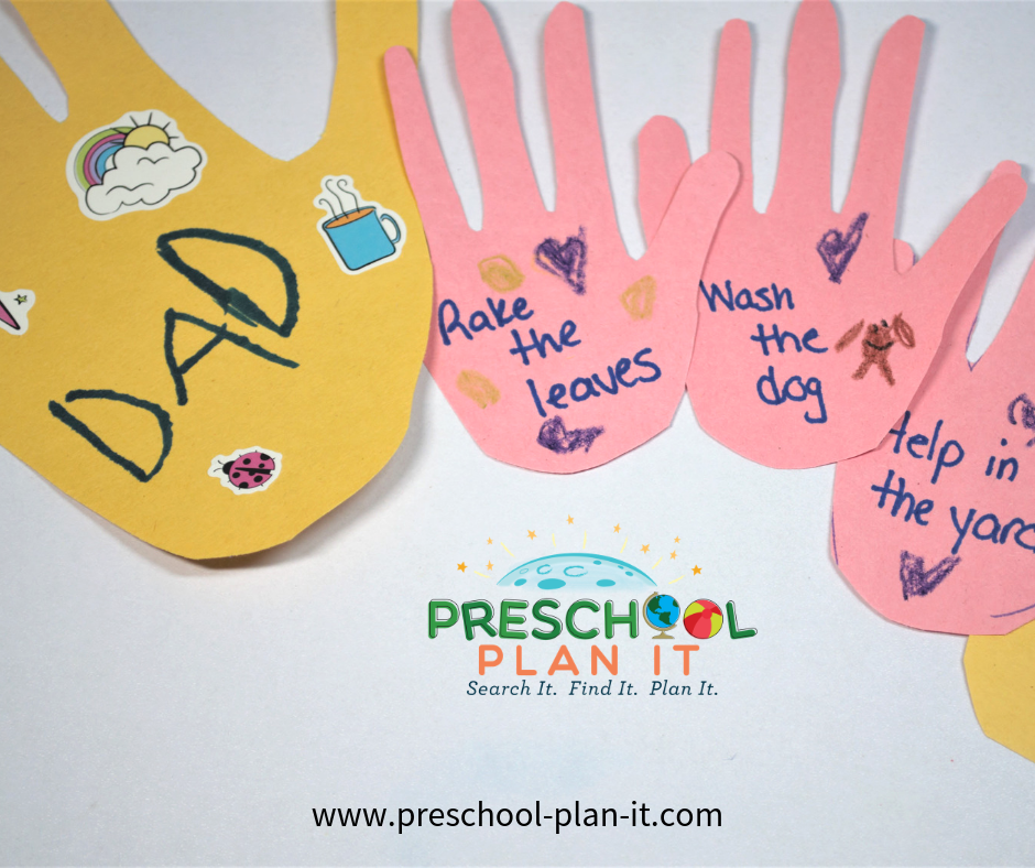 Fathers Day Activities Theme For Preschool