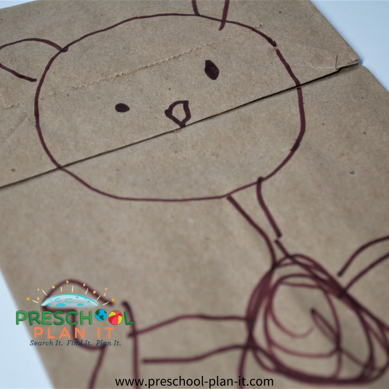 Preschool Ground Hog Day Theme Art Activity