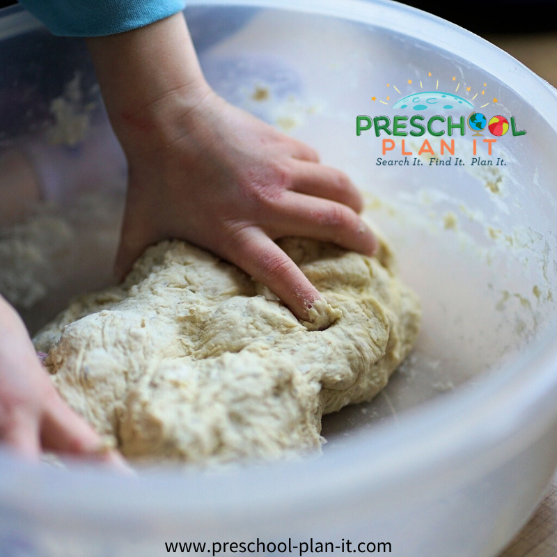 Preschool Pizza Theme Pizza Dough Idea
