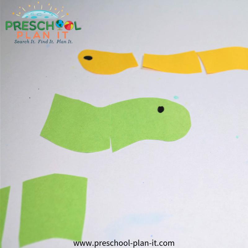 Worms Preschool Theme Puzzle