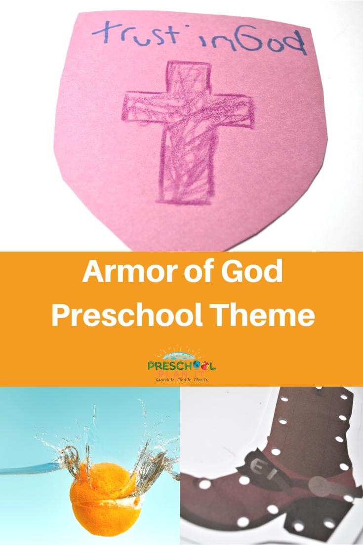 Armor of God Preschool Theme