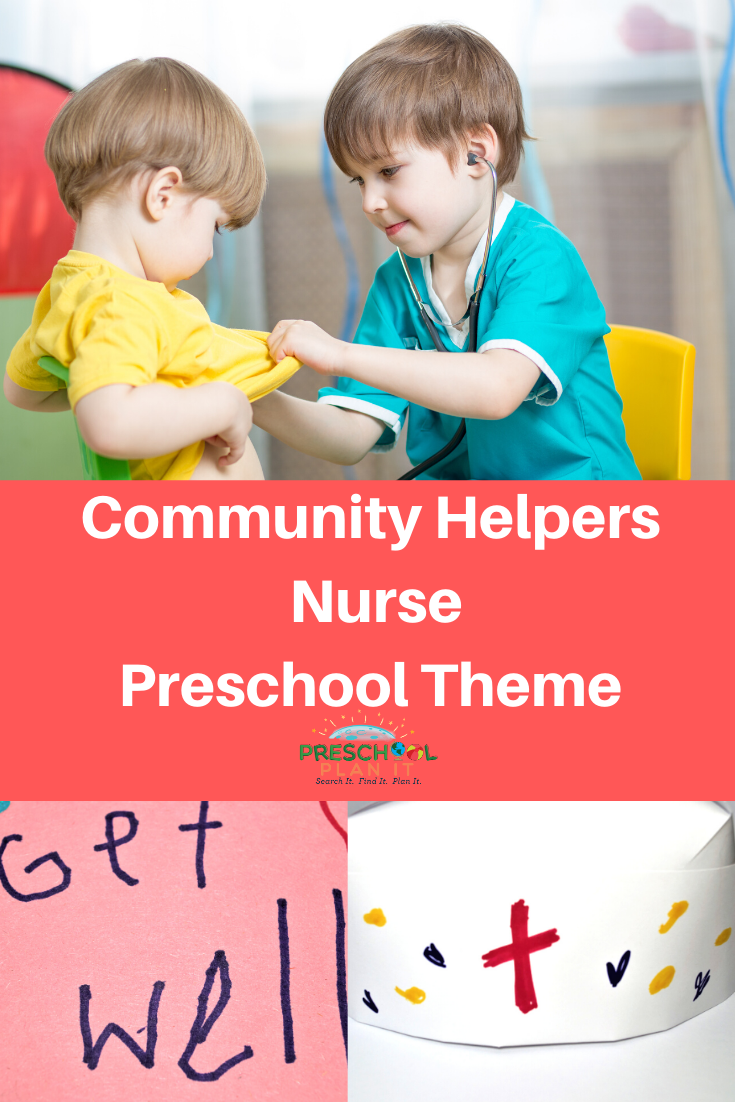 Community Helpers Nurse Preschool Theme